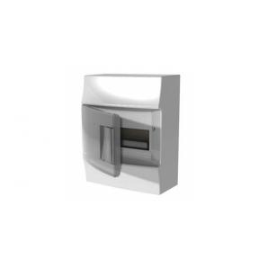 Бокс настенный Mistral41 8М прозрачная дверь (c клемм)