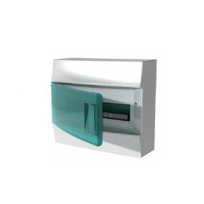 Бокс настенный Mistral41 12М зеленая дверь (без клемм)