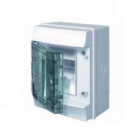 Mistral65 бокс настенный 4М прозрачная дверь (без клемм)
