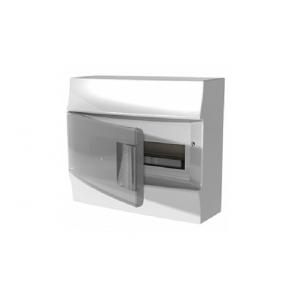 Бокс настенный Mistral41 12М прозрачная дверь (c клемм)