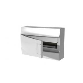 Бокс настенный Mistral41 18М непрозрачная дверь (c клемм)