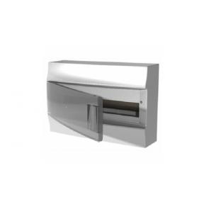 Бокс настенный Mistral41 18М прозрачная дверь (c клемм)