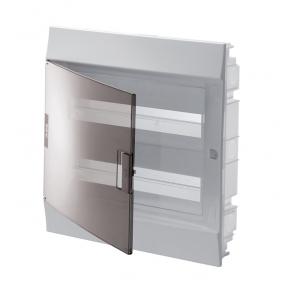 Бокс в нишу Mistral41 24М прозрачная дверь (c клемм)