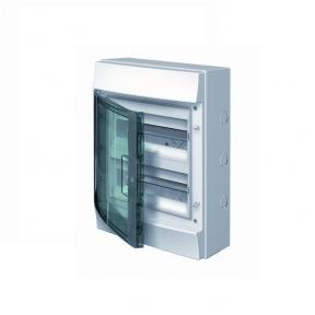 Бокс настенный 24М прозрачная дверь Mistral65 (с клемм)