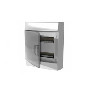 Бокс настенный Mistral41 36М прозрачная дверь (c клемм)