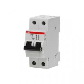 ABB Автомат 2-полюсный SH202L C63