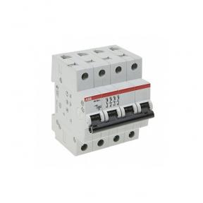 ABB Автоматический выключатель 4-полюсный SH204L C63