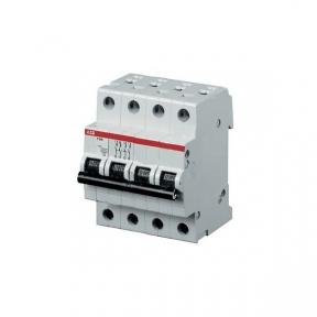 ABB Автоматический выключатель 4-полюсный S204C 63