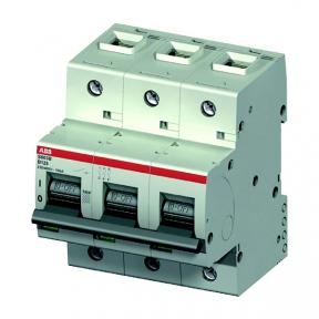 ABB Автоматический выключатель 3-полюсный S803С 100 25кА