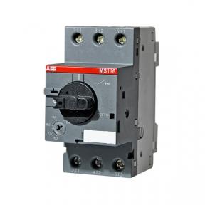 ABB Автомат MS116-1.0 10 кА с регулируемой тепловой защитой 0.63A - 1.0А
