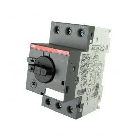 ABB Автоматический выключатель MS116-12.0 25 кА с регулируемой тепловой защитой 8A-12А
