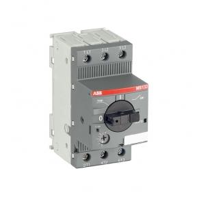 ABB Автоматический выключатель MS132-6.3 100кА с регулируемой тепловой защитой 4A-6.3А