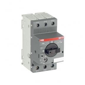 ABB Автоматический выключатель MS132-10 100кА с регулируемой тепловой защитой 6.3A-10А