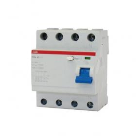ABB Выключатель дифференциального тока 4 модуля FH204 AC-25/0,1