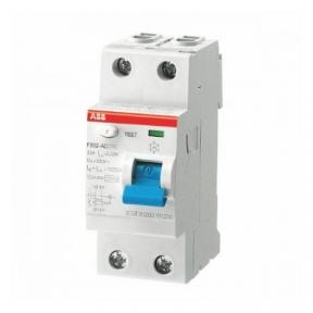 ABB Диф автоматический выключатель / УЗО 2 модуля F202 АС-25/0,1