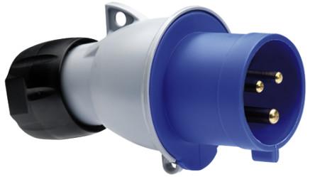 ABB Вилка кабельная ICAT 216-P6 16A 2P+E IP44
