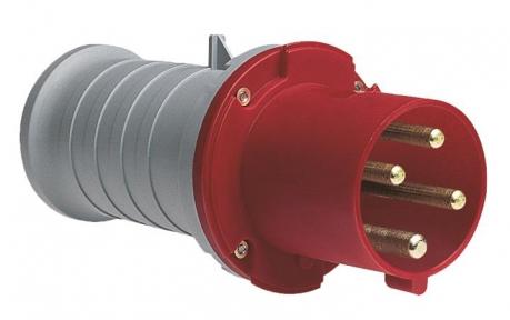 ABB Вилка кабельная 363P6 63А 3P+E IP44