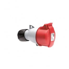 ABB Розетка кабельная ICAT332-C6 32A 3P+E IP44