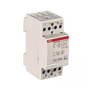 ABB Модульный контактор ESB-24-40 (24А АС1) 24В АС/DC SSTGHE3291102R0001