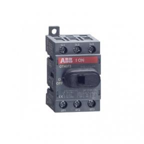 ABB Рубильник ОТ25F3 3х-полюсный на Din-рейку или монтажную плату