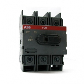 ABB Рубильник ОТ125F3 3х-полюсный на Din-рейку или монтажную плату