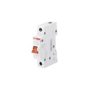 ABB Рубильник 1 полюсной SHD201/50 рычаг красный
