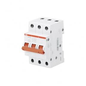 ABB Рубильник 3 полюсной SHD203/50 рычаг красный