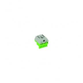Клеммник самозажимной PE 5x4+1x25мм ZK51G