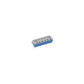 Клеммник самозажимной N20x4+6x25мм ZK206B