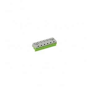 Клеммник самозажимной PE 20x4+6x25мм ZK206G