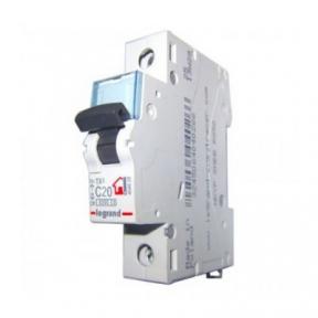 Legrand 404029 Автоматический выключатель ТХ3 С20А 1П 6000