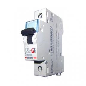 Legrand 404032 Автоматический выключатель ТХ3 С40А 1П 6000