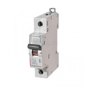 Legrand 407264 Автоматический выключатель DX3-E C20 1П 6000/6kA