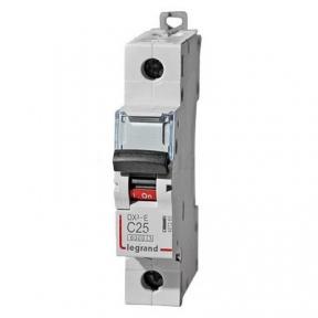 Legrand 407265 Автоматический выключатель DX3-E C25 1П 6000/6kA