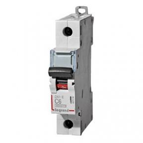 Legrand 407260 Автоматический выключатель DX3-E C6 1П 6000/6kA