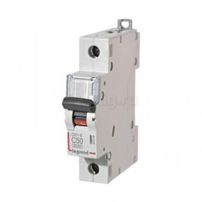 Legrand 407268 Автоматический выключатель DX3-E C50 1П 6000/6kA