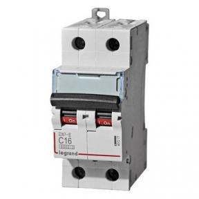 Legrand 407277 Автоматический выключатель DX3-E C16 2П 6000/6kA