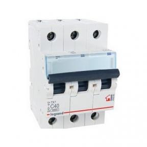 Legrand 404060 Автоматический выключатель ТХ3 С40А 3п 6000