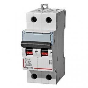 Legrand 407280 Автоматический выключатель DX3-E C32 2П 6000/6kA