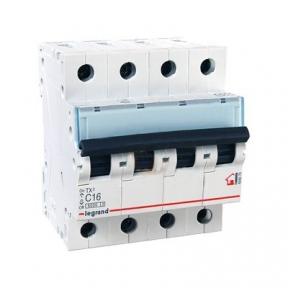 Legrand 404070 Автоматический выключатель ТХ3 С16А 4п 6000