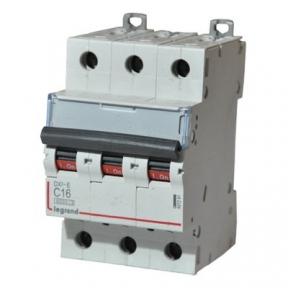 Legrand 407291 Автоматический выключатель DX3-E C16 3П 6000/6kA