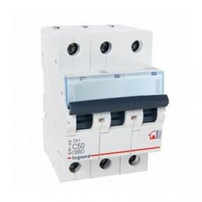 Legrand 404061 Автоматический выключатель ТХ3 С50А 3п 6000