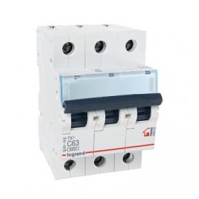 Legrand 404062 Автоматический выключатель ТХ3 С63А 3п 6000