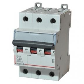 Legrand 407295 Автоматический выключатель DX3-E C40 3П 6000/6kA