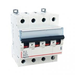 Legrand 407310 Автоматический выключатель DX3-E C50 4П 6000/6kA