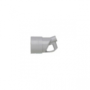 Legrand 55013 Розетка пластиковая 3К+З с кольцом 20 А выход кабеля сбоку