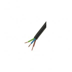 Провод ПВС 3x1,5 черный (бухта 100 м)